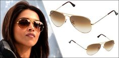 These superb sunglasses look classy because of their shape and design. They are very cozy. Bronze tinted or brown tinted glasses with copper colored frames are one of the most sought after aviator sunglasses for women.