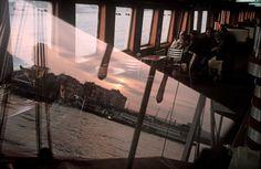 Alex Webb. TURKEY. Istanbul. 2004. Bosporus ferry.