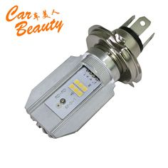 Find More Headlights Information about 2016 New H4 Motorcycle Led Headlight 1200LM 12W Headlamp High Low Beam of Motorcycle Accessories Fit  BMW Harley Ducati Suzuki,High Quality light,China scooter vent Suppliers, Cheap light contactor from Car Beauty International Ltd. on Aliexpress.com