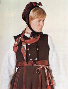 FolkCostume&Embroidery: Overview of Norwegian Costumes, part The eastern heartland Folk Costume, Costumes, Norwegian Clothing, Heartland, Norway, The Row, Two By Two, Embroidery, Oslo