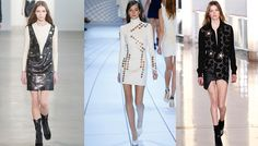 Tendance Œillet, défilés Calvin Klein Collection, Mugler et Anthony Vaccarello