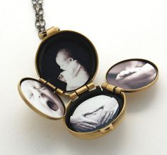 Incredible Four-Way Locket Necklace Family Album by verabel