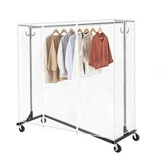 The best cabinets for storing your belongings. Cupboards only for your clothes can sometimes be used in your shoes. Garment Racks, Industrial Style, Wardrobe Rack, Two By Two, Fashion Outfits, Zipper, Cover, Hooks, Base