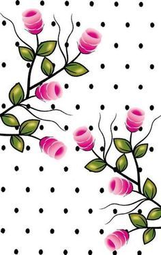 Imagem relacionada Manicure Y Pedicure, One Stroke Painting, Borders For Paper, Wallpaper Backgrounds, Heart Wallpaper, Patterns In Nature, Cellphone Wallpaper, Flower Images, Whimsical Art
