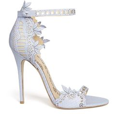 The wait is nearly over, Marchesa's first ever, full shoe collection will be available in select department stores come January The fashion house, which was founded by British duo Georgina Ch… Pretty Shoes, Beautiful Shoes, Cute Shoes, Me Too Shoes, Stilettos, High Heels, Marchesa Shoes, Shoe Boots, Shoes Heels