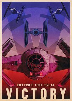 Carteles propaganda de Star Wars