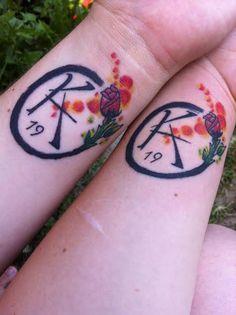 Matching Ka tattoos for friends!