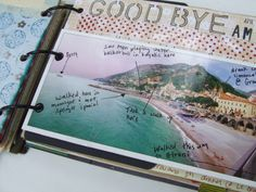 Who says you can't write on things in your Anything Book? I love the way this person has doodled and written messages on the photo. A photo like this serves as a map for activities over time. Smart idea! #anythingbook