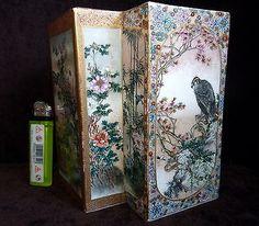 Antique Japanese / Chinese Satsuma Vase - Kinkozan 19/20th ???