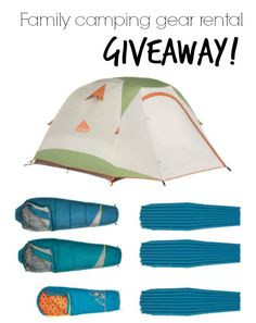 Family camping gear rental review