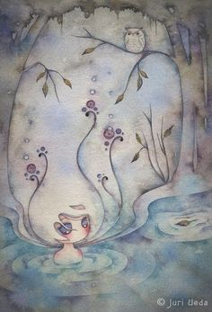 Linger Print by juriu on Etsy