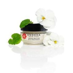 The Mango Butter Eye Treatment contains mango seed butter, squalane, and sodium hyaluronate to hydrate the delicate skin around the eyes; caffeine to assist in alleviating puffiness; licorice root extract and ashwagandha to help minimize dark circles; and antioxidants derived from the lotus flower, gotu kola, and soybean plants to provide additional anti-aging benefits. To use, gently pat cream along lower eyelid skin twice daily. To purchase, please see link in bio.
