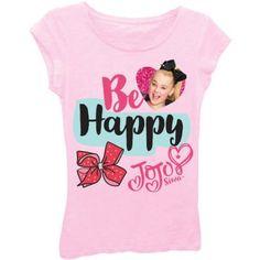 Jojo Siwa - JoJo Siwa Glitter Graphic T-Shirt (Little Girls   Big Girls) -  Walmart.com fbfaec36e