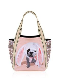 Teo jasmin - Sac cabas TEO BUNNY - Taille Taille unique - Couleur Rose