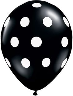 11 Inch Black & White Polka Dot Balloons ~ Picture Perfect for any Party! Black & White Polka Dot Latex Balloons Qty: 25 Material: Latex (Helium Quality) We offer the Polka Dot Balloons, White Balloons, Mylar Balloons, Latex Balloons, Polka Dots, Black N White, Black Dots, Color Black, White Chic