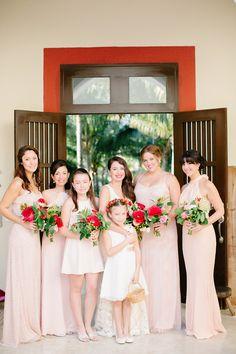 Photography : Brittany Rene Photography | Photography : Britt Rene Photography Read More on SMP: http://www.stylemepretty.com/little-black-book-blog/2015/06/15/vibrant-winter-destination-wedding-at-playa-del-carmen/