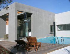 #Exterior #Piscina #Porche #Terraza #moderno #casas via @planreforma #muebles de exterior #fachada #suelos #maderadiseñado por Fernando Olba Rallo - Arquitecto
