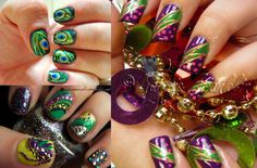 nail art glamorous nails - Google Search