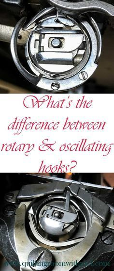 What's the difference between rotary and oscillating hooks on a sewing machine? Learn that and which one would be best for you to use.