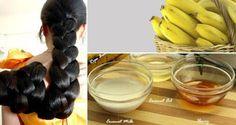 Crecer su pelo en sólo 5 días con este tratamiento plátano! ~ La Casa Del…