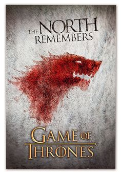 ThinkGeek :: Game of Thrones The North Remembers Poster