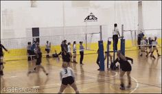 "tastefullyoffensive: "" "" Volleyball player scores a point with her face. [video] "" Scott Sterling would be proud. Beach Volleyball, Volleyball Memes, Volleyball Pictures, Girls Softball, Girls Basketball, Softball Pictures, Soccer Ball, Volleyball Training, Coaching Volleyball"