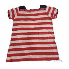 bc5152b215d6e robe t-shirt Petit bateau 12 mois occasion Ty Dressing