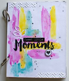 Mini album - Sweet little Moments (1) - mix media - Maggie Holmes
