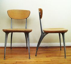 "Shelby Williams ""Gazelle"" Chairs, 1950s"