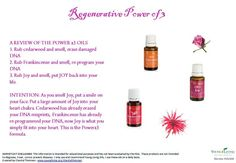 Young Living Essential Oils: Cedarwood, Frankincense Joy for DNA Repair Reprogramming