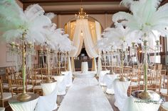 """A indoor archway can be dressed so you can say """" I do"""" in style"""
