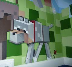 Bedroom Decorations In Minecraft - Bedroom : Hardrawgathering. Boys Minecraft Bedroom, Minecraft Wall, Minecraft Stuff, Minecraft Classroom, Minecraft Posters, Minecraft Party, Minecraft Ideas, Ikea Dekor, Graffiti Art