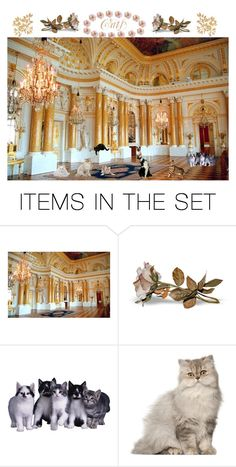 """""""Cats"""" by adahitch ❤ liked on Polyvore featuring art"""