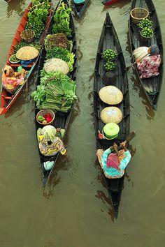 泰国水上人家