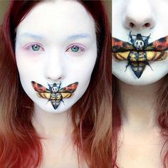 10 Spooky Makeup Looks for the Halloween Fanatic Creepy Halloween Makeup, Scary Makeup, Halloween Looks, Halloween Horror, Horror Movie Costumes, Horror Movie Tattoos, Movie Halloween Costumes, Horror Movies, Face Off