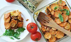 Vylepšete tradiční recept o batáty. Jejich nasládlá chuť si s hovězím rozumí. Paleo recept, který zachutná každému....