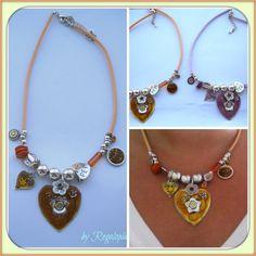 Peace and Love Necklace / Collar Paz y Amor  €12.00 https://www.etsy.com/es/listing/161670712/collar-plateado-de-paz-y-amor #Peace #Love #Joyas #Bisuteria #chicas # fashion # moda