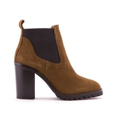BIMBA Y LOLA Track sole suede ankle boot