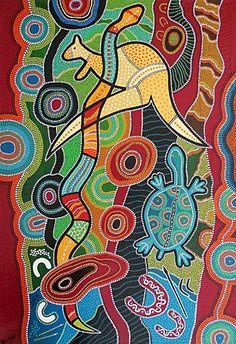 Art aborigène / dreamtime