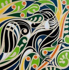 Shane Hansen Kura Gallery Maori Art Design New Zealand Plywood Print Te Tui… Maori Symbols, Kunst Der Aborigines, Maori Designs, New Zealand Art, Nz Art, Art Premier, Maori Art, Indigenous Art, Aboriginal Art
