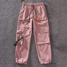 Autumn Streetwear embroidery Cargo Pants – - Online Shopping for Clothes Teen Fashion Outfits, Swag Outfits, Nike Outfits, Retro Outfits, Fall Outfits, Fashion Dresses, Cargo Pants Outfit, Cargo Pants Women, Casual Pants