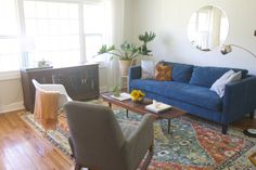 Before & After: Our Living Room // Annabode.com