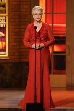 Angela Lansbury 2010. Guys, she's the MOST BEAUTIFUL AND CLASSIEST lady EVER.