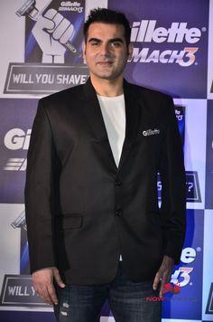 Arbaaz At Gillette Event