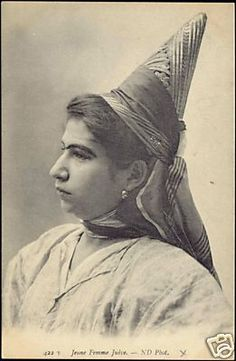 Jewish Woman  1910s Judaica