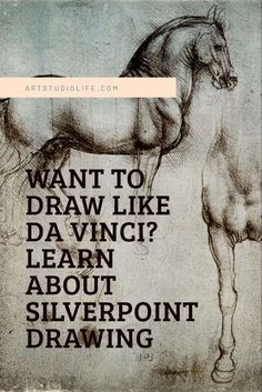 Use the same techniques Da Vinci did! Learn about silverpoint drawing and how to do it! #silverpoint #silverpointdrawing #howtodraw #drawing #leonardodavinci #drawingtips #drawingtutorial #learntodraw #drawingtips #drawingtechniques #traditionaldrawing
