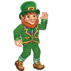 St. Patrick's Day Jointed Leprechaun Party Supplies Canada - Open A Party