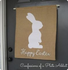 CONFESSIONS OF A PLATE ADDICT Pottery Barn Inspired Bunny Banner2a