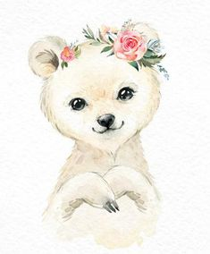 Snowy Penguin Polar Bear Snow Leopard Watercolor small animals baby clipart flower arctic winter white portrait toddler art baby-shower Snowy Penguin Snow Leopard Polar Bear Watercolor little Bear Watercolor, Watercolor Animals, Watercolor Paintings, Baby Clip Art, Baby Art, Baby Animal Drawings, Cute Drawings, Animal Nursery, Nursery Art