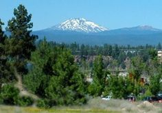 Bend, OR... Mt. Bachelor in the background